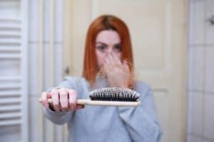 caída de pelo en el postparto